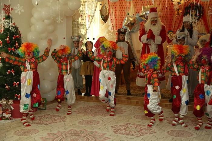 Gəncə uşaq evində bayram tədbiri keçirilib - Fotolar