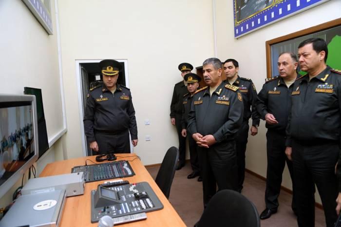 Zakir Həsənov hərbi nəşriyyatda olub