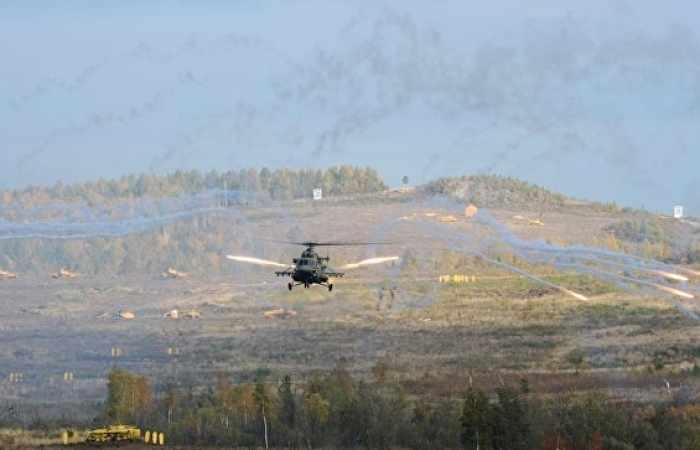 Russian army pilots in Armenia hold night trainings