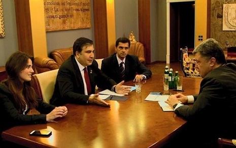 Saakashvili Appoints 25-Year-Old Brunette as His Deputy