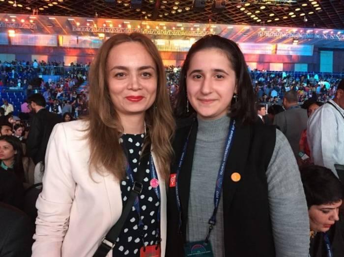 Ivanka Trump lobt Aserbaidschanische Unternehmerin für ihre Erfindung - VIDEO
