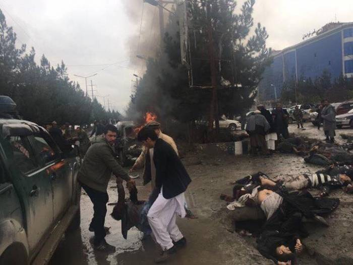 İŞİD Kabildə terror törədib - 18 ölü