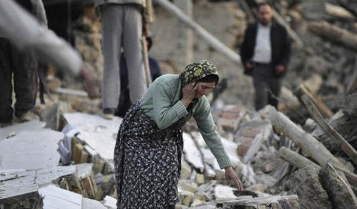 İranda zəlzələ nəticəsində 21 nəfər xəsarət alıb