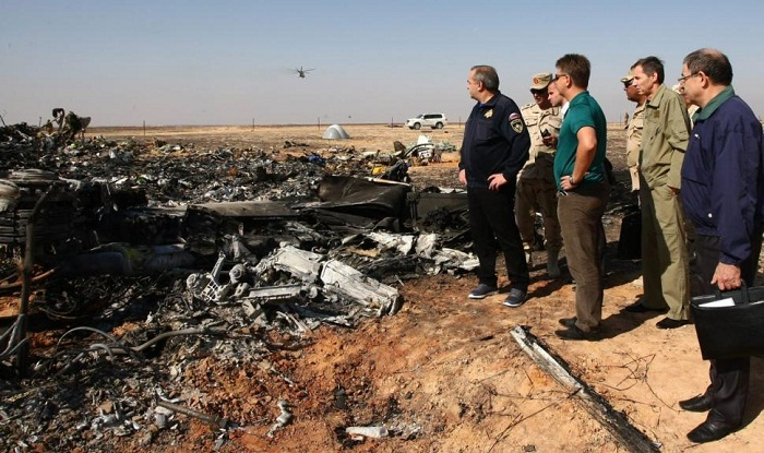 Russian plane was not struck from outside before deadly crash in Egypt