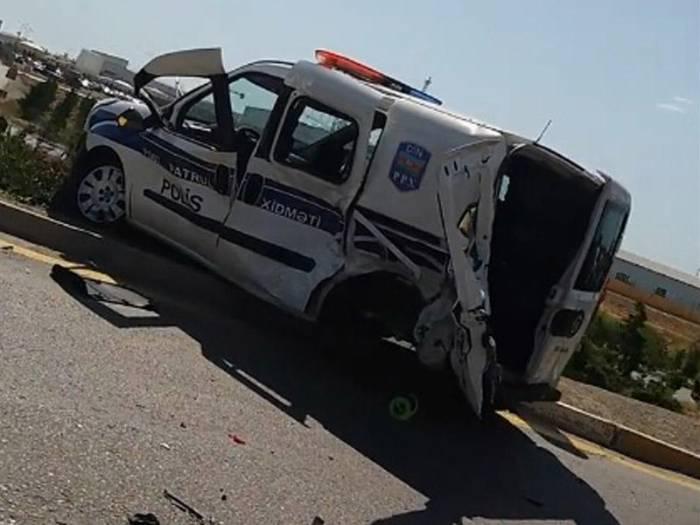 Bakıda ağır qəza: 2 polis öldü