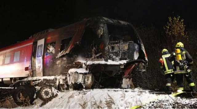 Allemagne: un mort et plusieurs blessés graves dans la collision d`un train et d`un poids lourd