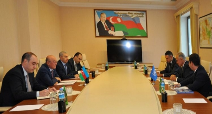 Azerbaijan's minister of emergency situations meets with UN resident coordinator