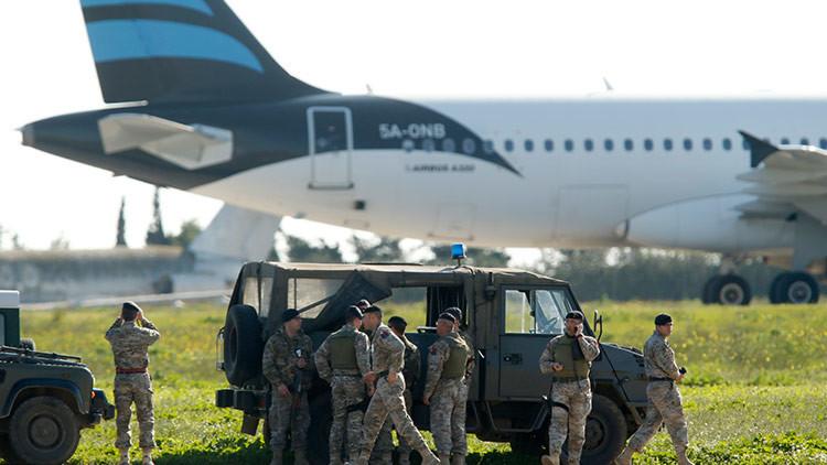 BREVEMENTE: ¿Qué sucede con el avión libio secuestrado?