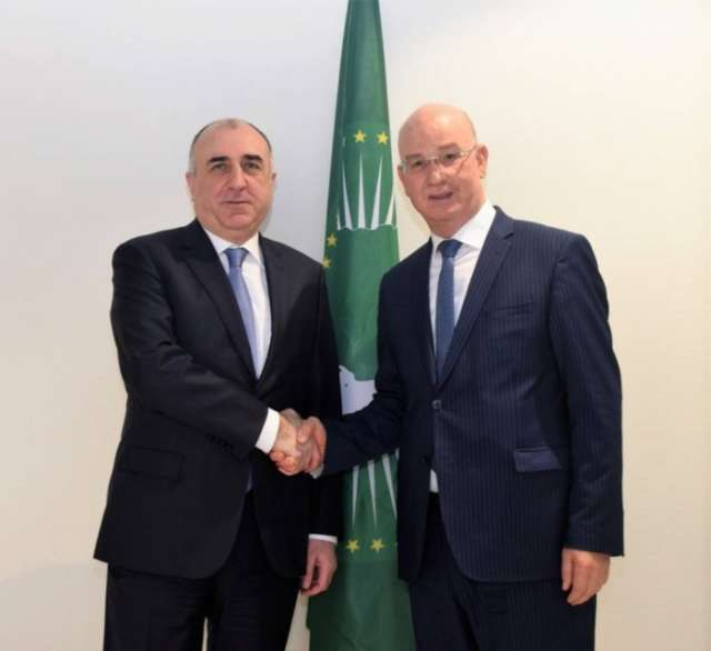 Azerbaijani FM meets with African Union Commissioner for Peace and Security