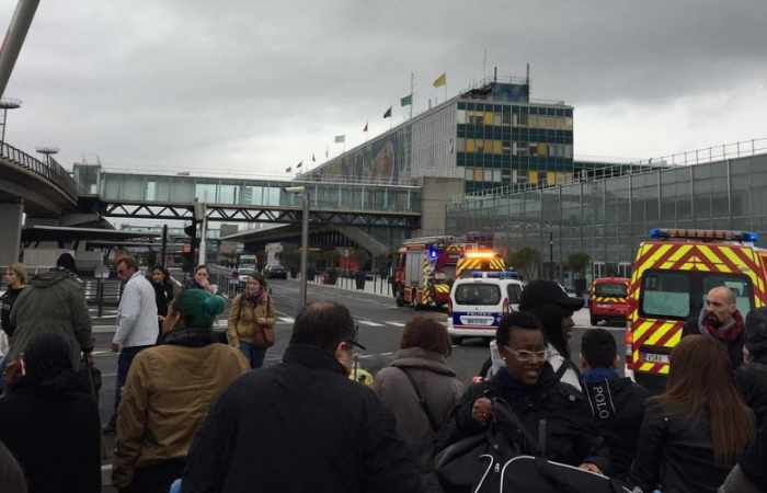 Paris Orly airport is evacuated after 'a shooting'