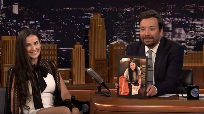 Demi Moore revela su foto 'menos agraciada' para mostrar las consecuencias del estrés
