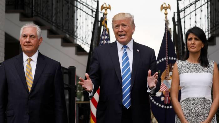 Donald Trump hofft auf eine friedliche Lösung der Nordkorea-Krise