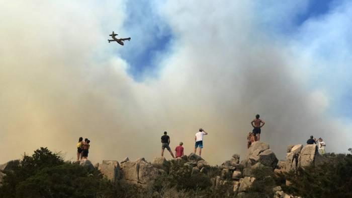 Feuer verwüstet auf Korsika 1.800 Hektar Wald