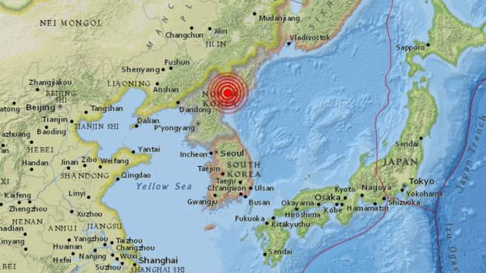 Medienberichte: Erdbeben in Nordkorea - womöglich durch Explosion ausgelöst
