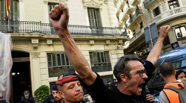 Catalonia to hold general strike in protest at police violence