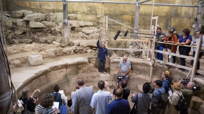 Archäologen graben in Jerusalem erstmals römisches Theater aus