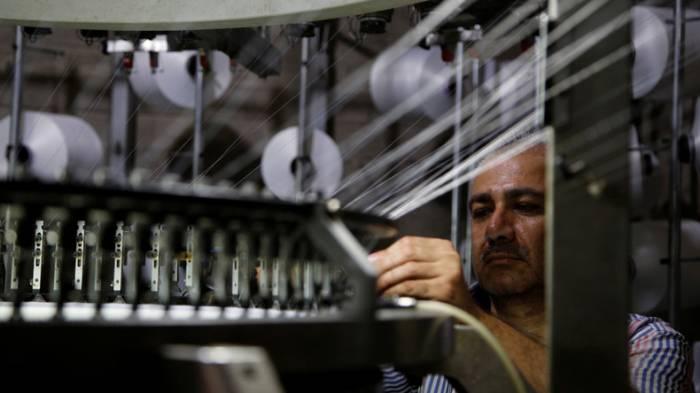 Syriens größte Weberei ist wieder in Betrieb