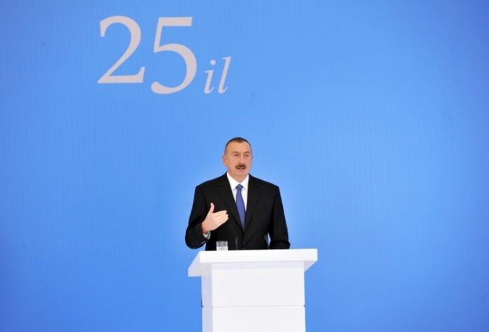 Ilham Aliyev: Azerbaijan's territorial integrity will be restored at any cost