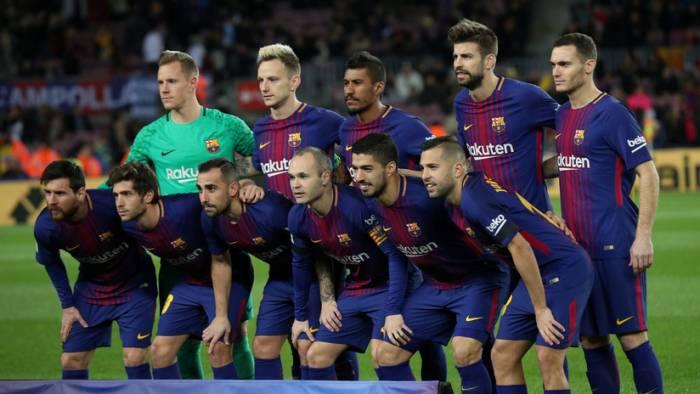 El FC Barcelona se burla del Real Madrid antes del clásico de la Liga española