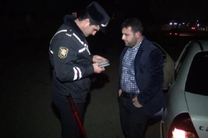 """Sərxoş sürücülərə Yeni il """"hədiyyəsi"""" - VİDEO"""