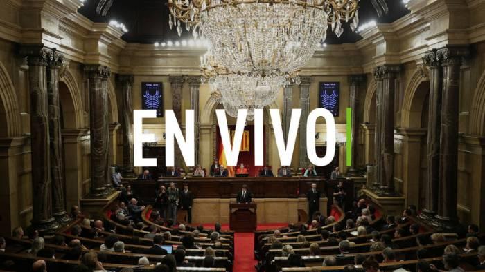 EN VIVO: Se constituye el Parlamento de Cataluña tras las elecciones del 21 de diciembre