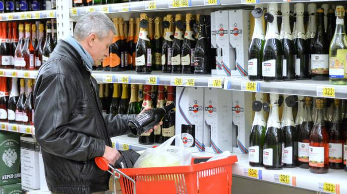 Alkoholkonsum in Russland binnen fünf Jahren um 80 Prozent zurückgegangen