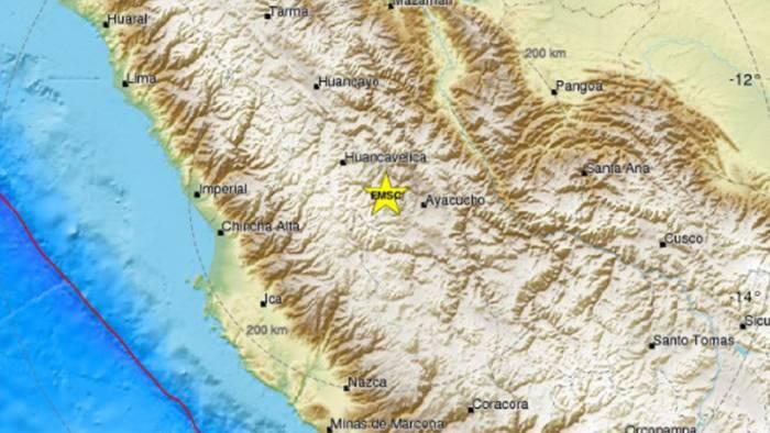 Un sismo de 5,3 agita la parte central de Perú