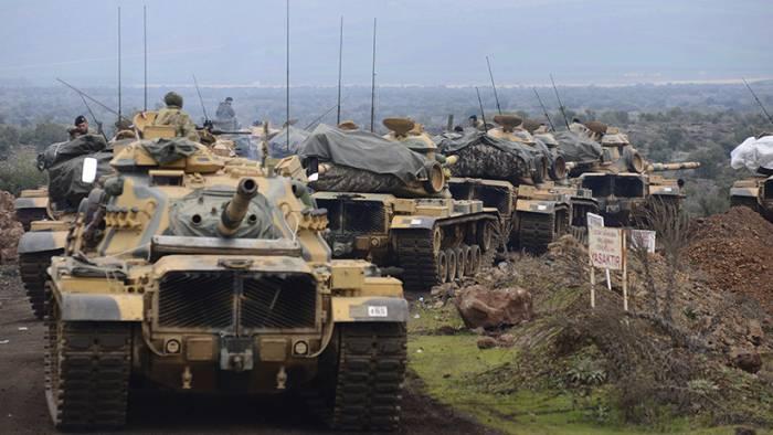 Las fuerzas turcas inician una nueva ofensiva contra Afrín en Siria