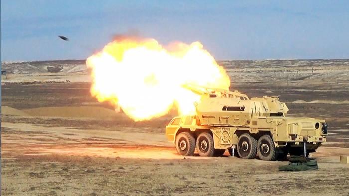 Raket və Artilleriya birləşmələri döyüş hazırlığına gətirildi - FOTOLAR+VİDEO
