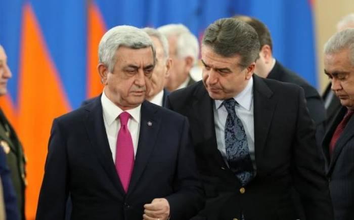 Sarksiyan baş nazirə qarşı savaş açır