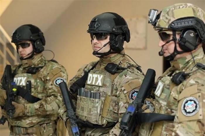 DTX-dan DİN-lə birgə əməliyyat - Silah-sursat aşkar edildi