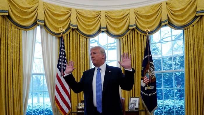 Der Präsident der alternativen Fakten