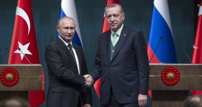 Erdogan, Russia's Putin discuss UN vote on Jerusalem, Syria crisis in phone call