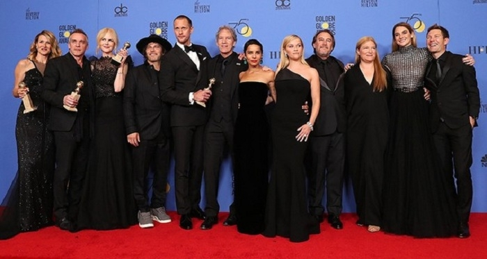 Golden Globes winners announced as Hollywood stars declare war on sexual misconduct
