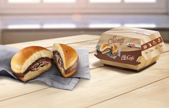 Italie: Des burgers au Nutella débarquent chez McDonald`s