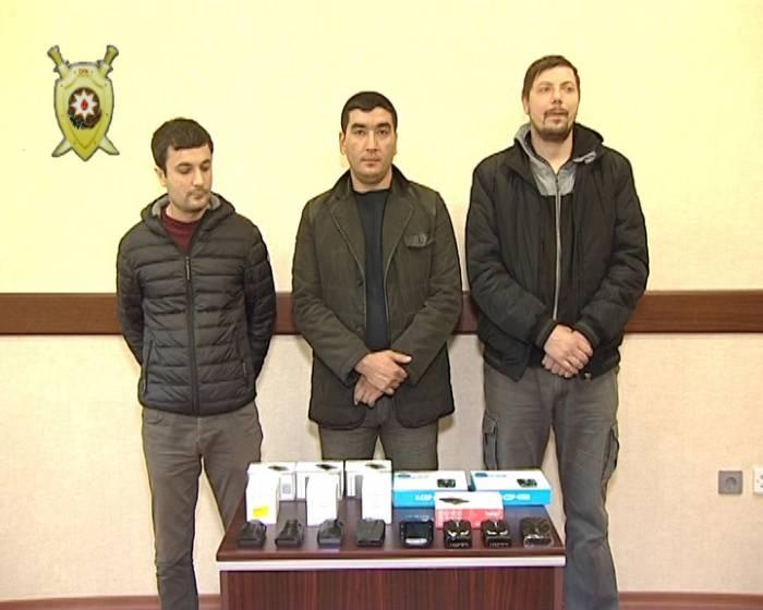 Bakıda antiradar satan şəxslər tutulub - FOTO