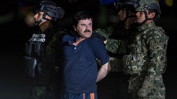 """""""El Chapo"""" fait appel de son extradition vers les Etats-Unis"""