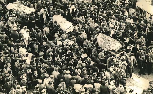 After January 20, 1990, a long night fell on our city, says Boris Dobin |  PHOTOS