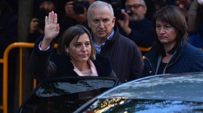 Catalan parliament speaker released from Spanish jail