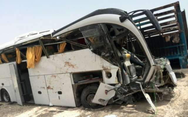 Bus accident in Saudi Arabia leaves 2 pilgrims dead, over 30 injured
