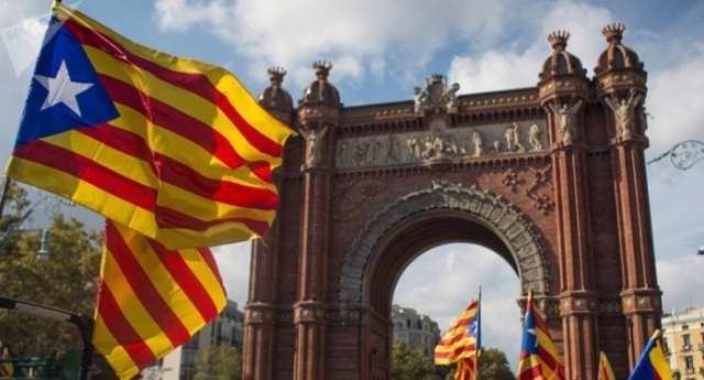 Catalans hold rally in Barcelona to support jailed leaders