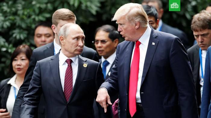 Putinlə Tramp arasında telefon danışığı olub