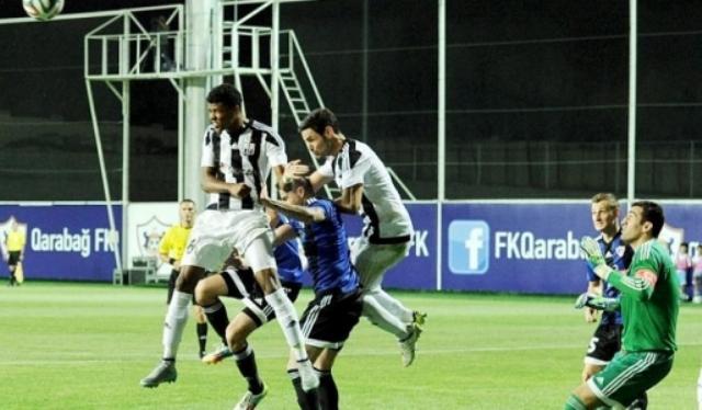 `Neftçi` `Qarabağ`ı uddu - Stadionda işıqlar söndü