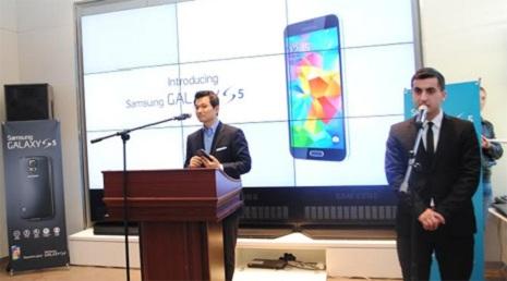 Galaxy S5 Bakıya gəlir