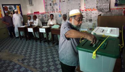 Pakistanda prezident seçkiləri keçirilir