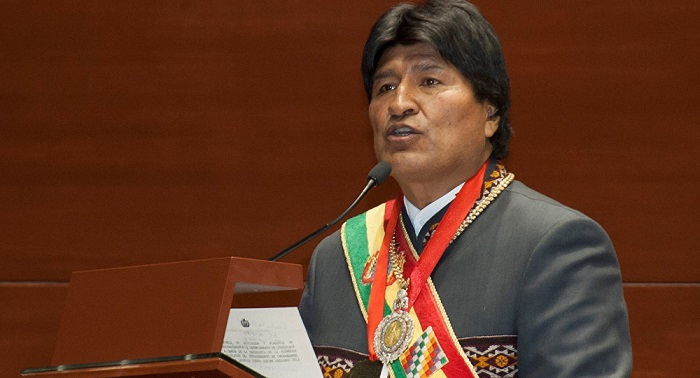 Morales: Crecimiento económico de Bolivia garantiza su liberación financiera