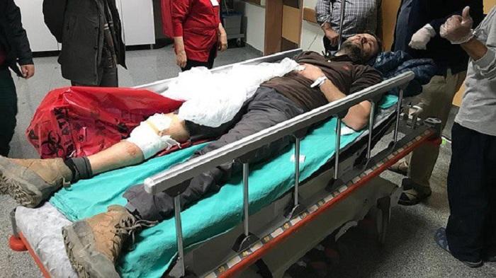 Türkiyəli jurnalist Afrində yaralanıb