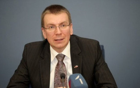 Latvian FM: Nagorno-Karabakh conflict should be resolved by peaceful means