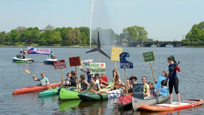 """""""G20-Protestwelle"""" will auf Hamburg zurollen"""