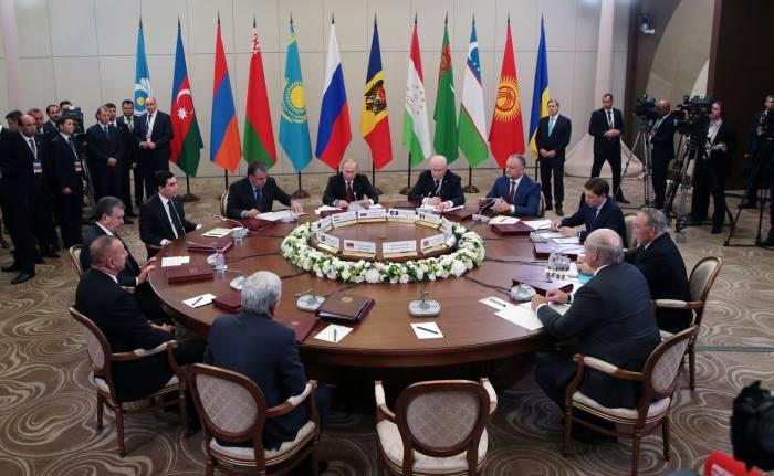 Moskvada MDB liderlərinin görüşü keçirilir